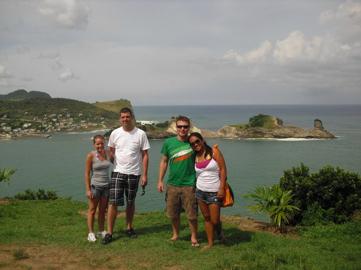 Private Family Tour in St. Lucia with James Touring Service