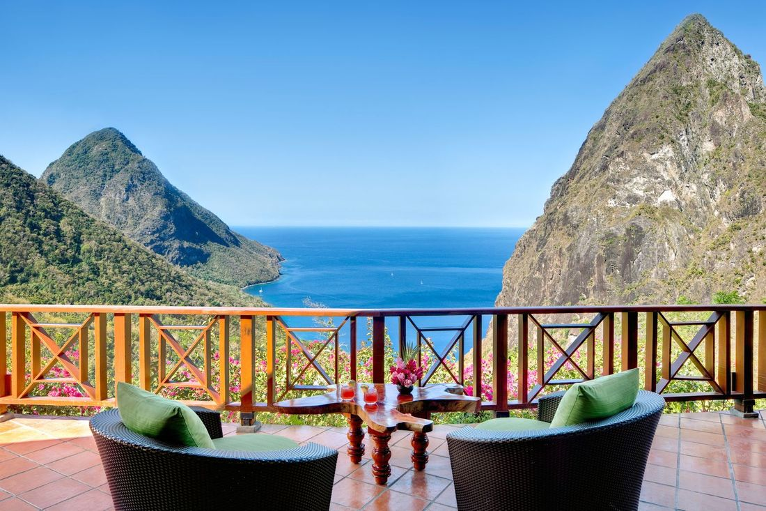 Best Ladera Resort tour in St Lucia with James Touring Service